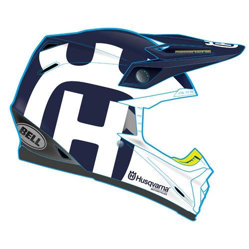 Aomc Mx Husqvarna Moto 9 Gotland Helmet By Bell