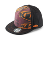2013 KTM Fragmented Style Hat (Black) L/XL