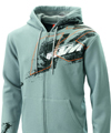 2014 KTM Splatter Zip Hoodie (Grey)