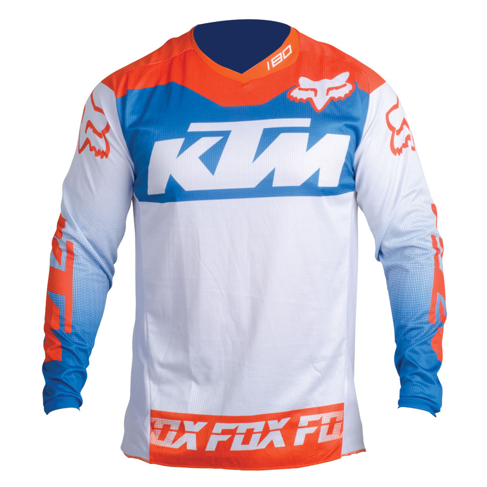 AOMC.mx: 2016 KTM 180 Youth Jersey (White) M