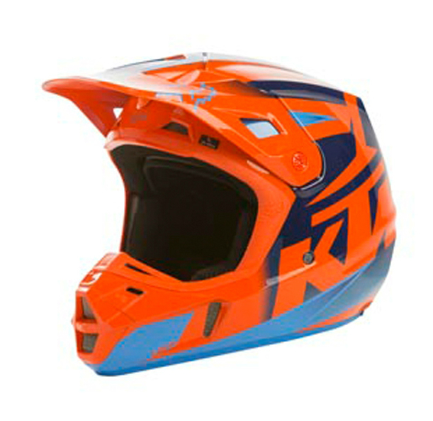 2016 ktm v2 helmet by fox. Black Bedroom Furniture Sets. Home Design Ideas