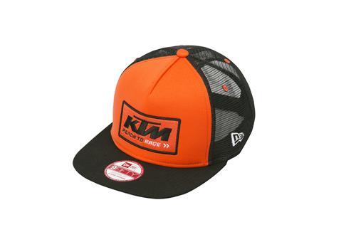 ca4682d3 AOMC.mx: 2017 KTM Team Trucker Hat