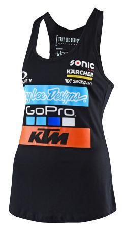 KTM TLD Womens Team Tank Small UPW1787102