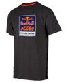 RedBull/KTM Logo Tee (Charcoal) XXL