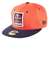 RedBull/KTM Factory Hat (Orange/Navy) 7-5/8
