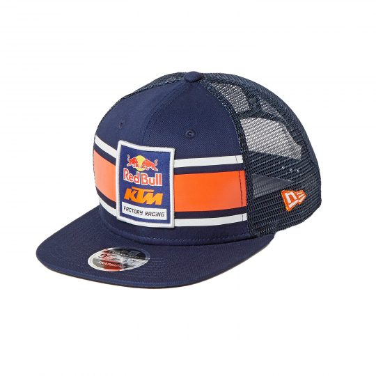 abfe940c5ece3 AOMC.mx  Red Bull KTM Factory Racing Crown Stripe Hat Navy