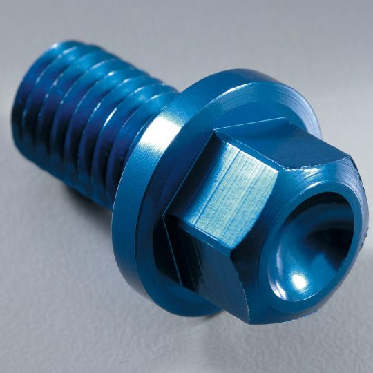 YAMAHA YZR-DRAIN-00-BL BLUE MAGNETIC DRAIN PLUG *NEW