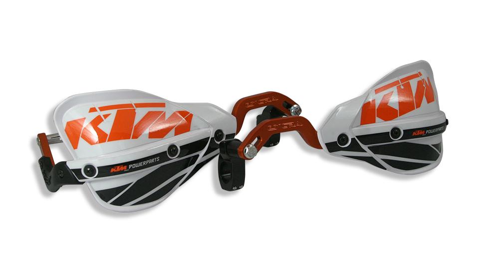 ktm probend crm handguards by cycra orange anodized. Black Bedroom Furniture Sets. Home Design Ideas