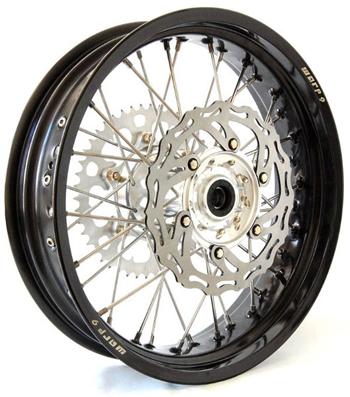 Warp 9 Supermoto Rear Wheel DR650 4 25 x 17