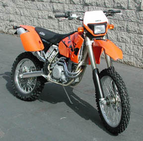Kawasaki Dual Sport >> AOMC.mx: Dakar Dual Sport Kit KTM RFS 01-05