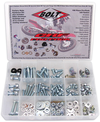 Bolt KTM Husaberg Husqvarna Pro-Pack Factory Set Kit Bolts Nuts Washers Screws