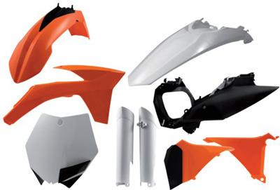 Polisport Complete Plastic Kit Set KTM 250 350 XC-F 2011-2012 250xcf 350xcf xcf