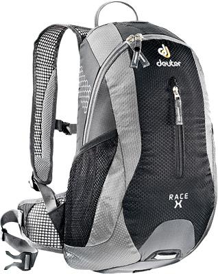 4325ef1422e AOMC.mx: Deuter Race X Pack (Black/Silver)