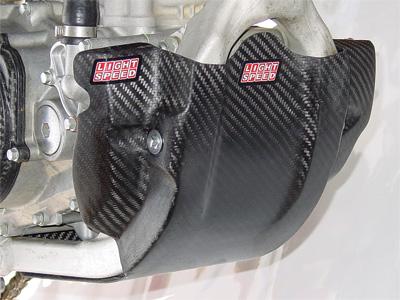 AOMC.mx: Lightspeed Carbon Fiber Glide Plate KTM 250/350 SX-F