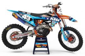 KTM Factory Graphic Kits: AOMC mx