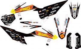 KTM Factory Graphic Kits: AOMC mx