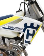 Polisport Radiator Scoops White for Husqvarna FE 501 2017-2018