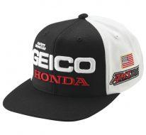 dcbfed3a3 2019 100% Geico Honda Podium Snapback Hat