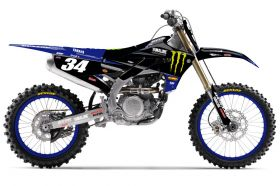 AOMC mx: Bill's Pipes MX2 Series Works Pipe (Cone Look) Yamaha YZ250