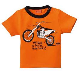 215feb41 2016 KTM Baby My Daddy Tee 68/9mo